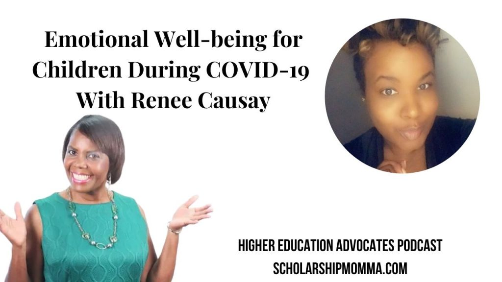 Emotional Well-being for Children During COVID-19 W Renee Causay 2